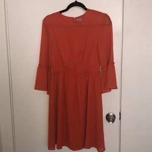 Orange cute h&m dress